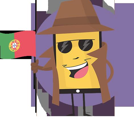 fake my call id mascote Português (Portugal) pt-PT