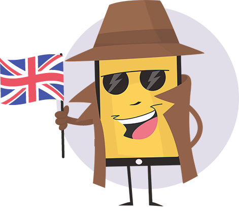 fake my call id mascot great britain UK en-GB